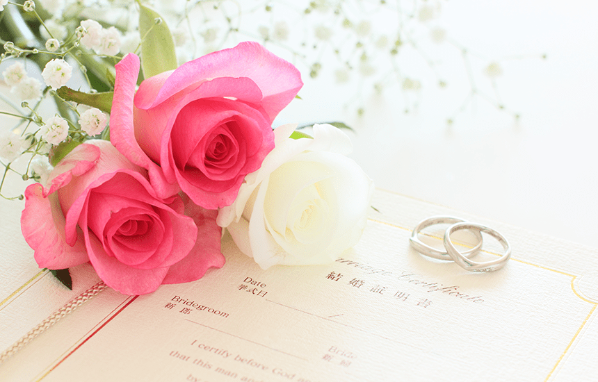 結婚や入籍に必要な印鑑とおすすめのセット!プレゼントやお祝いにも