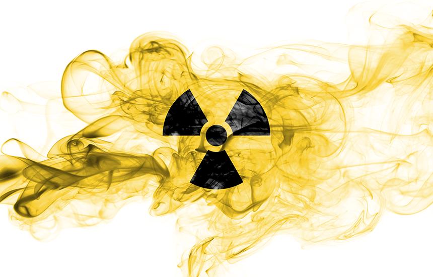心配される放射能について